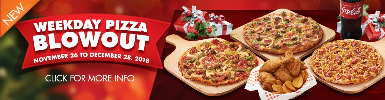 Weekday Pizza Blowout
