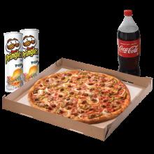 Monster 18 Pizza Ber-Month Treat