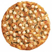 Scallop Primo Pizza
