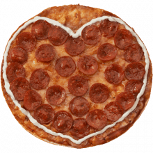 Heart Pizzamoji