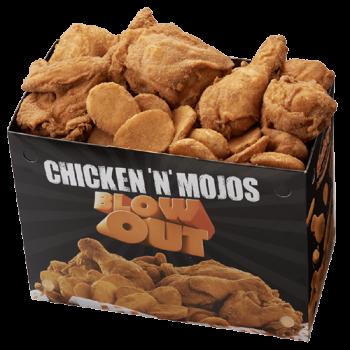 Chicken 'n' Mojos Blowout Pack