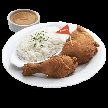 2PC Chicken n Rice
