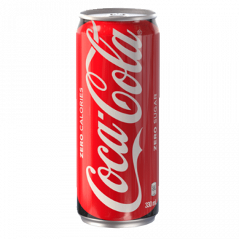 Coke Zero in Can