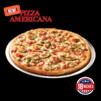 Scallop and Shrimp Pizza Americana